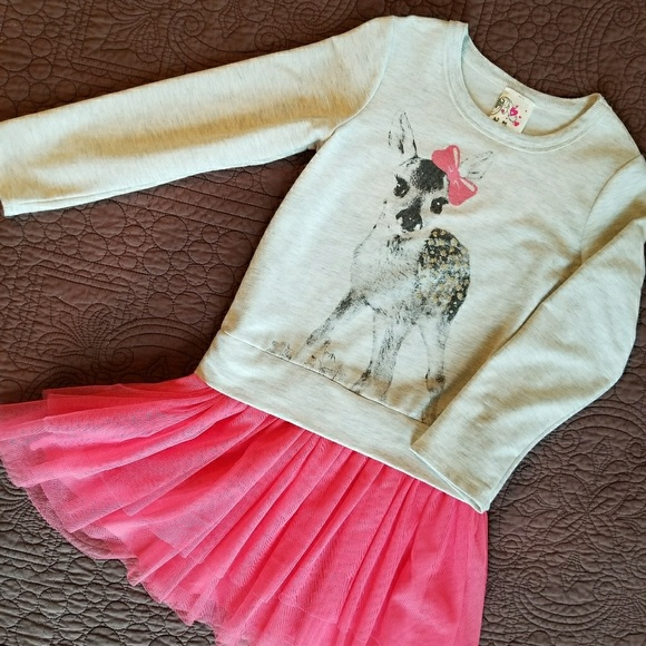 6c29340eb10 Jenna   Jessie Other - Girls Deer tutu dress 6x